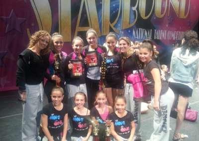 Miami Dancity Studios winning 1st overall at Starbound Regionals